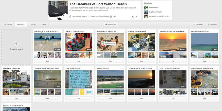 Breakers FWB Pinterest