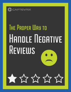 The proper way to handle negative reviews