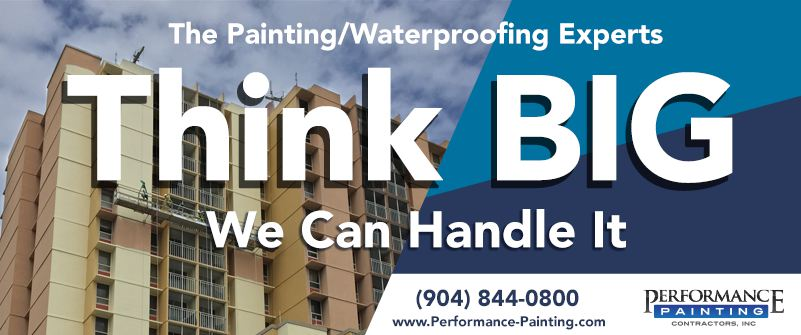 Painting advertisement design