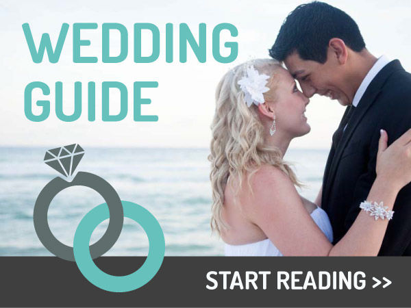 Wedding guide CTA design