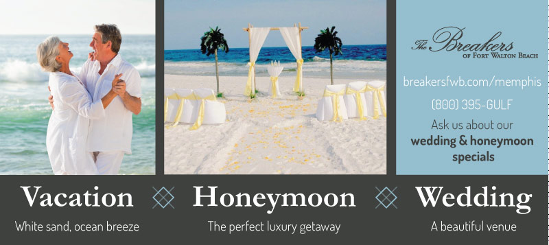 Magazine Ad design for a wedding venue