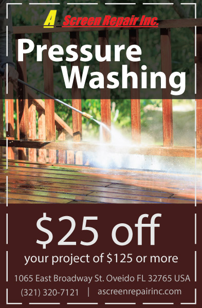 Pressure Washing Coupon Design