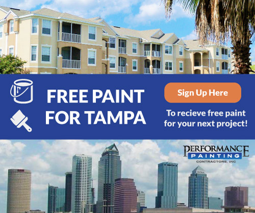Free Paint Landing Page Ad