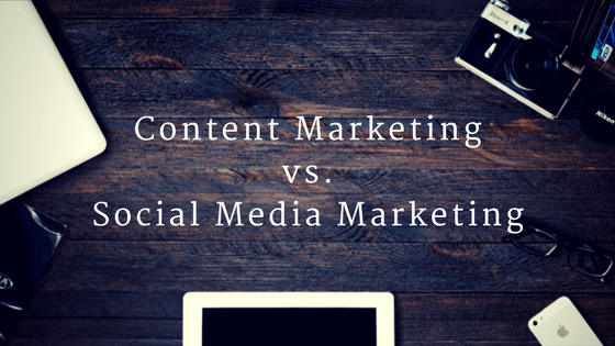 Content Marketing Social Media Marketing