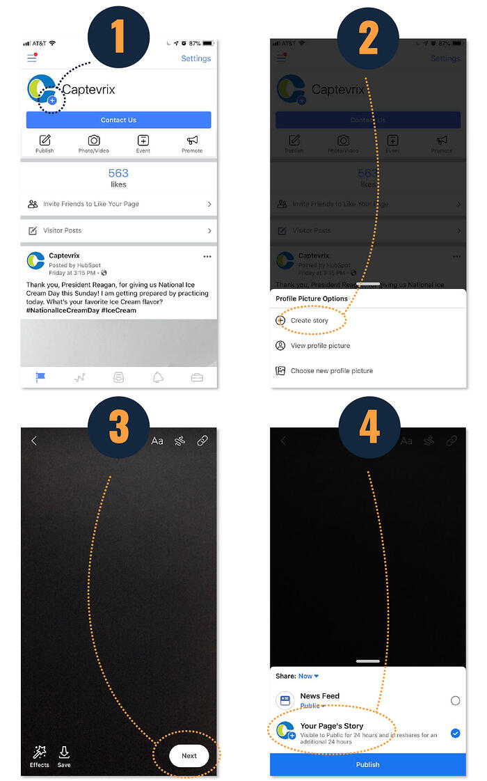How to Post A Facebook Mobile Story
