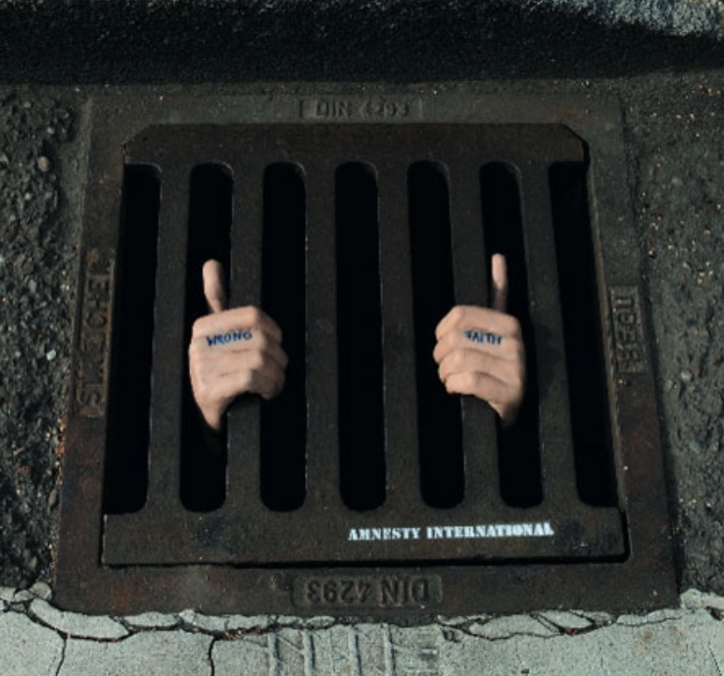 Guerrilla Marketing - Amnesty International