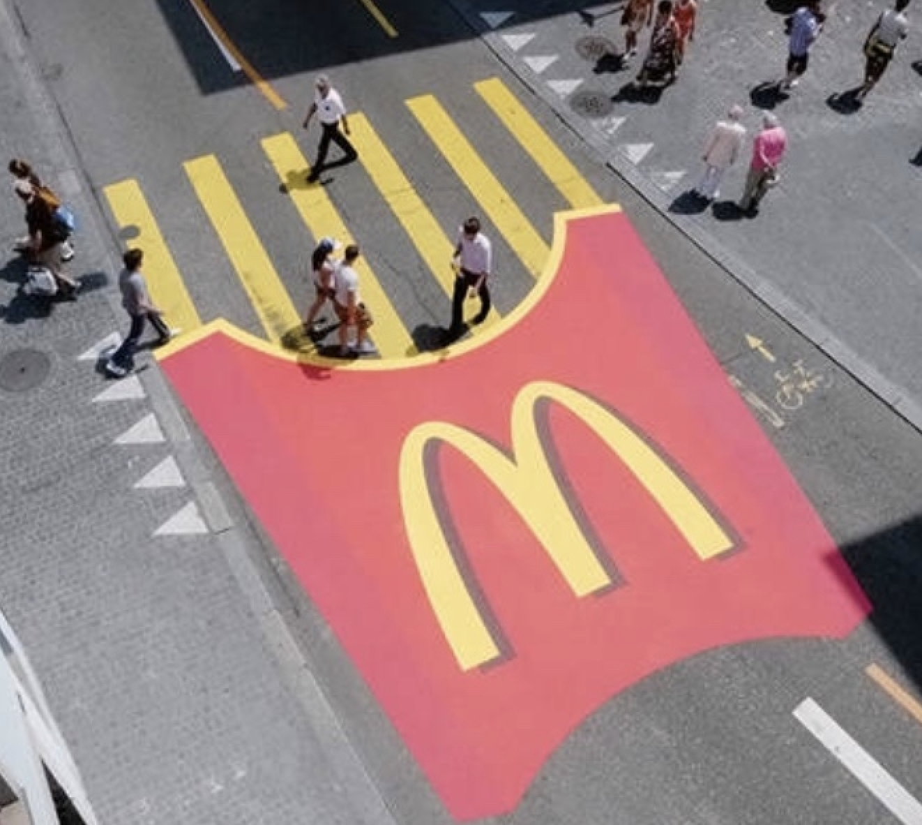 Guerrilla Marketing - Mcdonalds